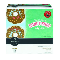 Keurig  Donut Shop  Regular Medium Roast  Coffee K-Cups  18 pk