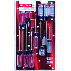 Craftsman  14 pc. Screwdriver Set  16 in.