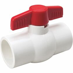 B&K ProLine 2 in. PVC Slip Ball Valve Full Port
