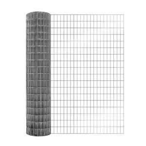 Mega Roll  36  H x 25  L 14 Ga. Silver  Poultry Fence