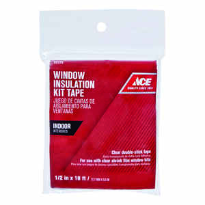 Ace  Clear  Indoor  Shrink Film Mounting Tape  1/2 in. W x 216 ft. L