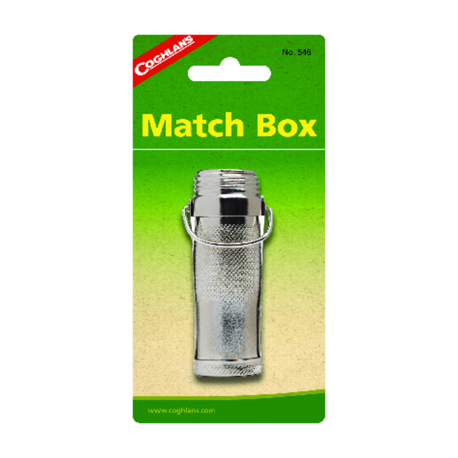 Coghlan's  Match Box  6.000 in. H x 3.000 in. W x 0.750 in. L 1 pk