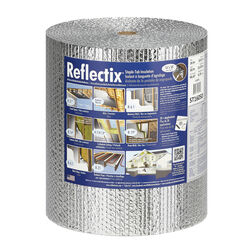 Reflectix 16 in. W x 50 ft. L R-3.7 to R-21 Reflective Radiant Barrier Foil Insulation Roll 67