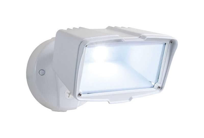 Halo Switch Led White Outdoor Floodlight Hardwired Ace