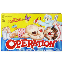 Hasbro  Operation Game  34 pc.
