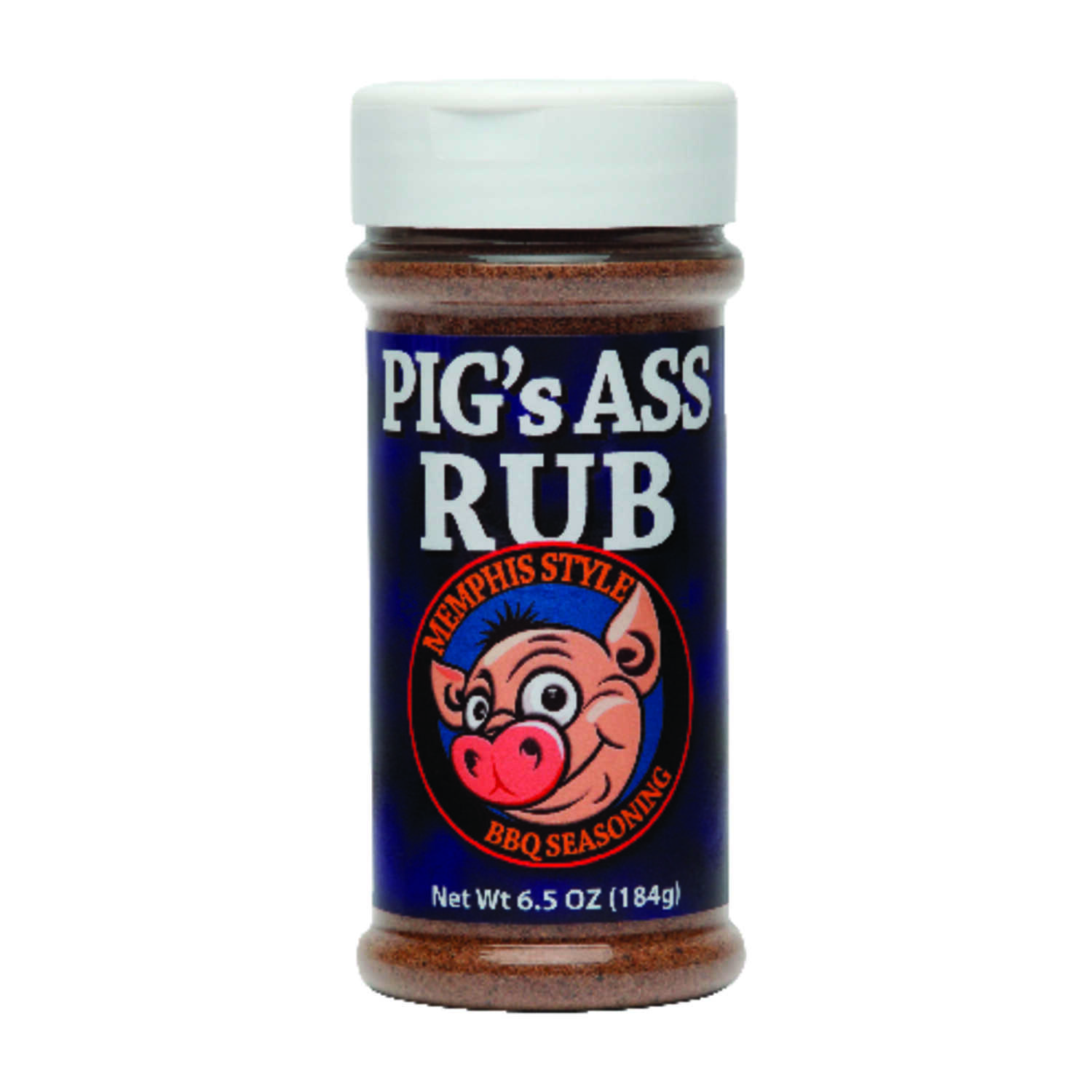Pig's Ass  Memphis Style  Seasoning Rub  6.5 oz.