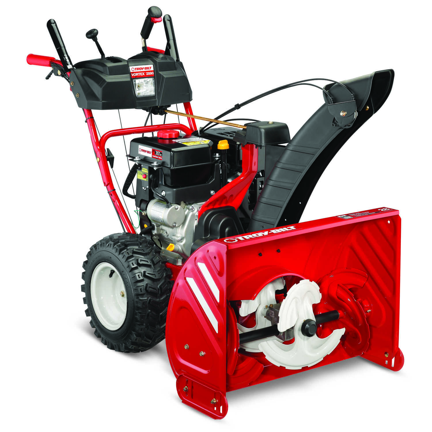 Troy-Bilt  Vortex  28 in. W 357 cc Three-Stage  Pull and Electric Start  Snow Thrower