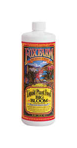 FoxFarm  Big Bloom  Organic Liquid Plant Food  1 qt.