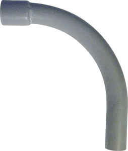Cantex  2-1/2 in. Dia. PVC  Electrical Conduit Elbow