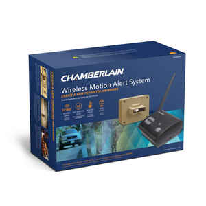 Chamberlain  Black/Brown  Aluminum/Plastic  Motion Sensor and Alert System