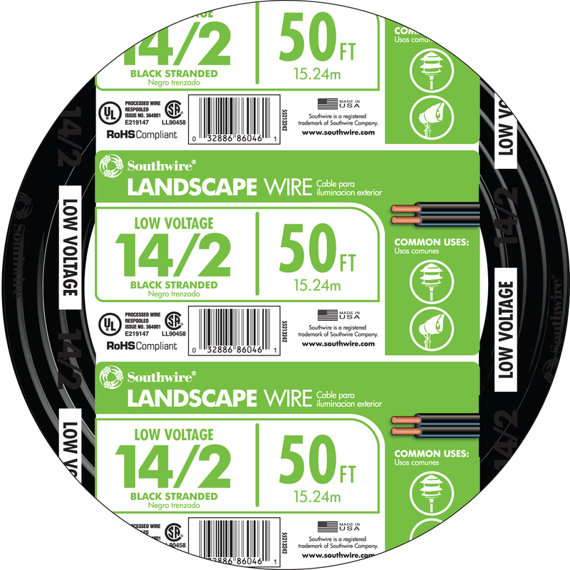 Coleman Cable Low Voltage Cable Low Voltage 50 ft. 14/2 UL