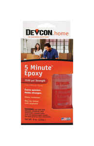 Devcon Home  5 Minute  High Strength  Liquid  Epoxy  9 oz.