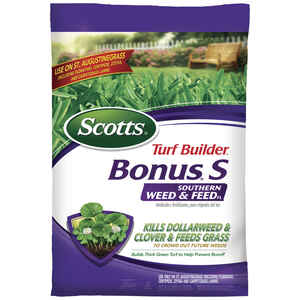 Scotts  Turf Builder Bonus S  29-0-10  Weed and Feed  For St. Augustine 18.04 lb.