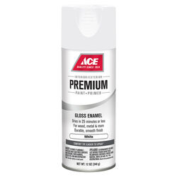 Ace Premium Gloss White Enamel Spray Paint 12 oz.