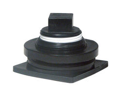Rubbermaid  Stock Tank Drain Plug  For Livestock