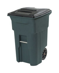 Toter  64 gal. Polyethylene  Wheeled Garbage Can  Lid Included