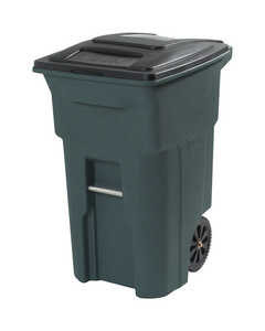 Toter  64 gal. Polyethylene  Wheeled Trash Can