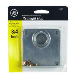 GE  .75 in. Hub  For Type RX Bolt-On