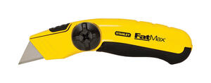 Stanley  FatMax  6-1/4 in. Fixed Blade  Utility Knife  Black/Yellow  1 pk