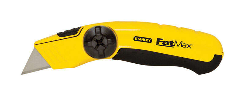 Stanley  FatMax  6-1/4 in. Yellow  1 pc. Utility Knife  Fixed Blade