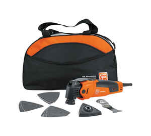 Fein  MultiMaster  3 amps 110 volt Corded  Oscillating Multi-Tool  Kit 19500 opm Orange  1 pc.