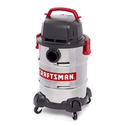 Craftsman  6 gal. Corded  Wet/Dry Vacuum  8.3 amps 120 volt 4.25 hp