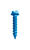 ITW Tapcon 1/4 in. Dia. x 2-3/4 in. L Steel Hex Head Concrete Screw Anchor 75 per box