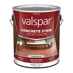 Valspar  Solid  Base 4  Resin  Concrete Stain  1 gal.
