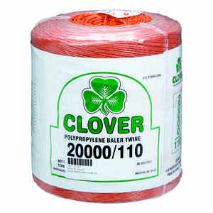 Clover  20000 ft. L Orange  Poly  Twine