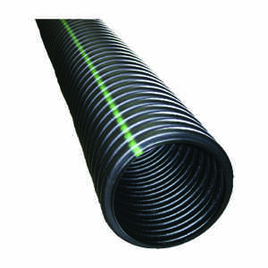 ADS  10 ft. L x 3 in. Dia. Polyethlene  Drain Tubing