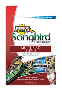 Audubon Park  Songbird Selections  Assorted Species  Wild Bird Food  Millet  5 lb.