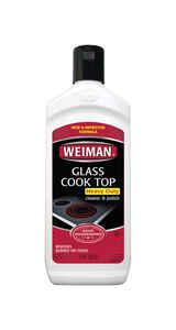 Weiman  Apple Scent Glass Cooktop Cleaner  10 oz  Cream