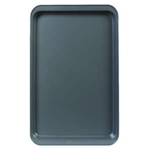 Baker's Secret  11.3 in. W x 17.32 in. L Cookie Sheet  Gray