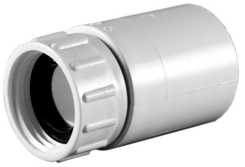 Bon Lasco PVC Swivel Hose Adapter 3/4 In. Dia. X 3/4