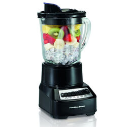 Hamilton Beach  Wave Crusher  Black  Plastic  Blender  40 oz. 14 speed