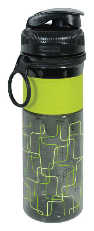 Rubbermaid  Squiggles  Tritan  Water Bottle  Design Series  20 oz. BPA Free