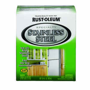 Rust-Oleum  Metallic  Stainless Steel Paint Kit  1 qt.