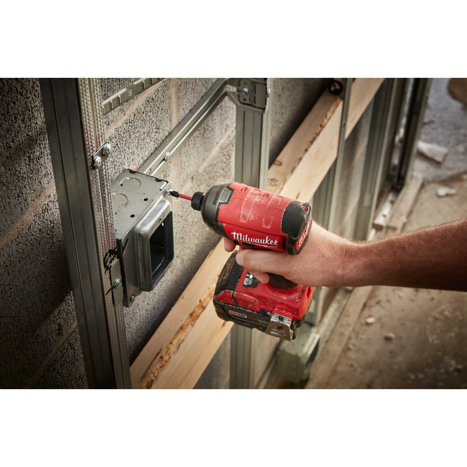 Milwaukee  M18 FUEL SURGE  18 volt Cordless  Brushless  Hydraulic Impact Driver  Bare Tool  450 in-l