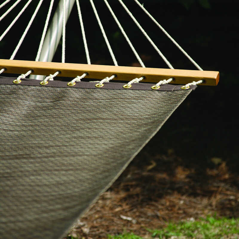 Castaway  55 in. W x 82 in. L 2 person  Brown  Hammock
