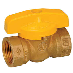 Mueller  Gas Ball Valve  Brass