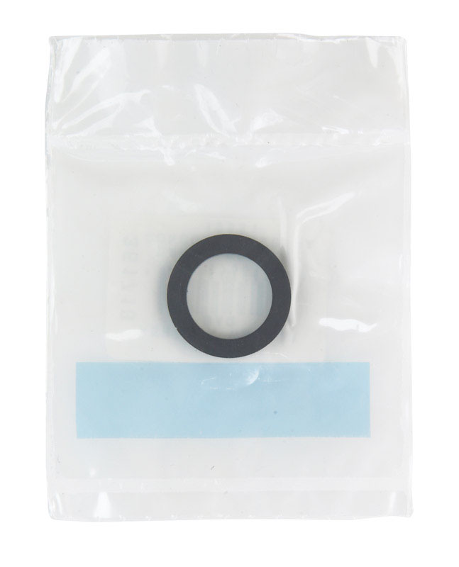 Danco  1/2 in. Dia. Rubber  Washer  1
