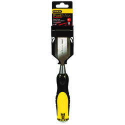 Stanley  FatMax Thru-Tang  1-1/2 in. W Steel  Wood Chisel  Black/Yellow  1 pc.