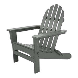 Ivy Terrace  Folding  Gray  Polypropylene  Chair