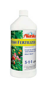 Alaska  Fish Emulsion  Liquid  Organic All Purpose Plant Food  1 qt.