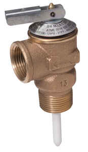 Cash Acme  1/2 in. Dia. Temperature and Pressure Relief Valve