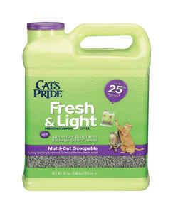 Cat's Pride  Fresh & Light  Cat Litter  15 lb. Fresh and Clean Scent