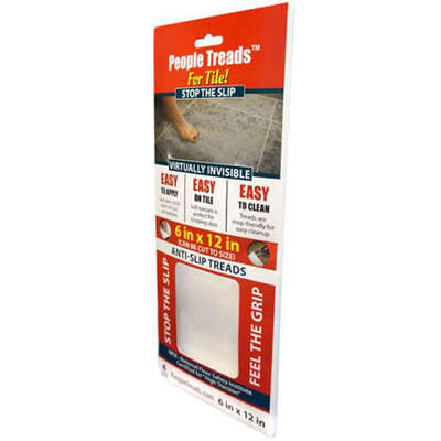Handi Products  6 in. W x 12 in. L Unfinished  Vinyl  Anti-Slip Treads