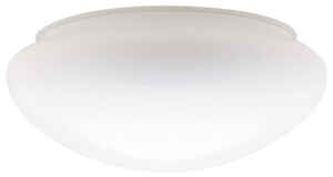 Westinghouse  Mushroom  White  Glass  Lamp Shade  6 pk