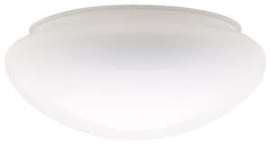Westinghouse  Mushroom  White  Glass  Lamp Shade  6