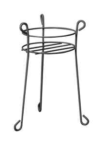 Panacea  21 in. H Black  Plant Stand  Steel